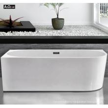 Aokeliya new fast-installing irregular-shaped freestanding bathtub with faucet acrylic soaking bathtub for home
