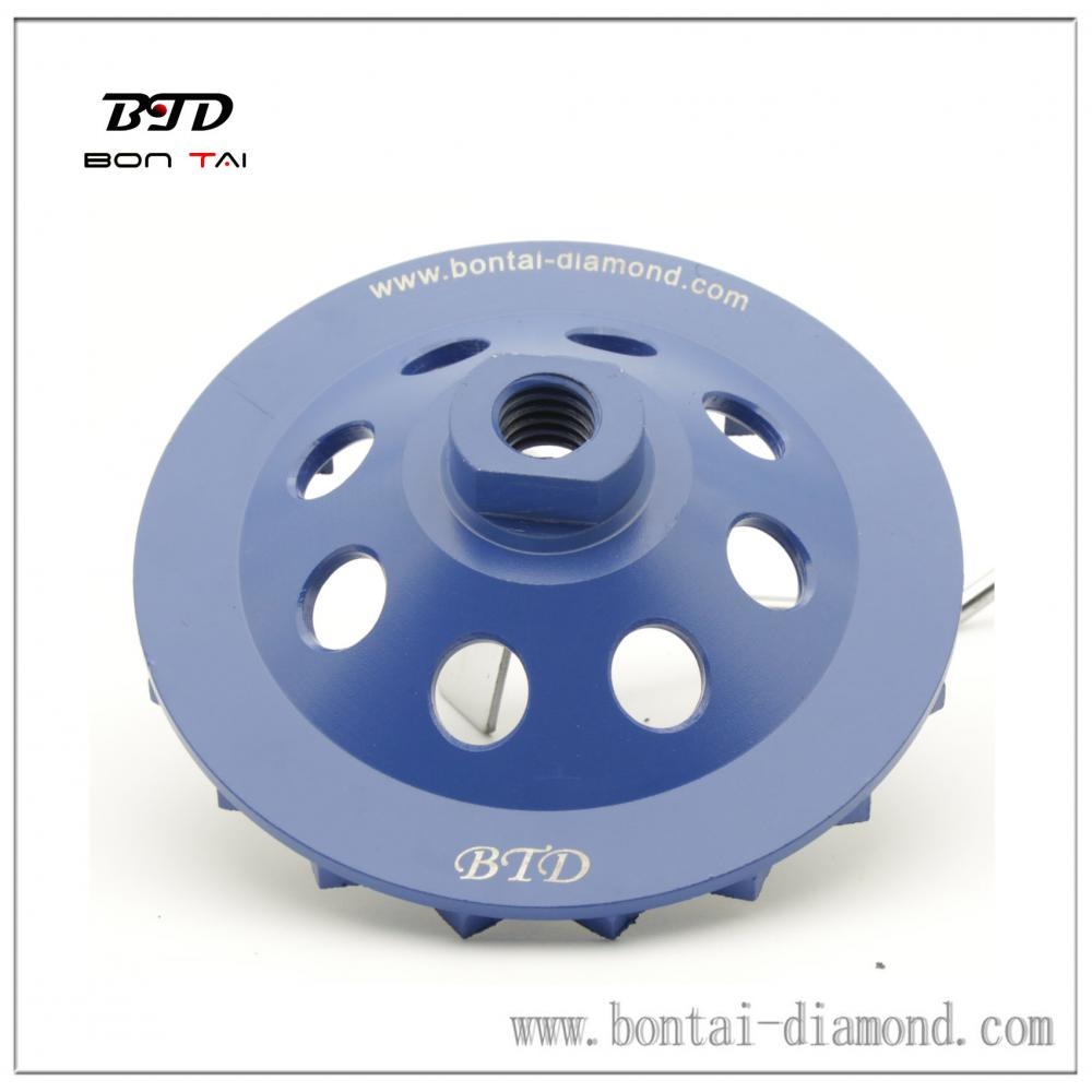 roda de Copa turbo 100mm, mede 100 * 9 * 5 * 8 * 23mm