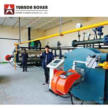 Caldeira de aquecimento de bobina térmica a gás para fábrica de compensado