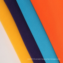sweatshirt fleece fabric solid color 100% polyester tech fleece fabric brushed pk fleece fabric