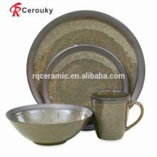 MOQ 50pcs Liling производитель керамическая посуда комплект