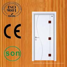 Madera de pino de excelente mano de obra descarga diseños de la puerta