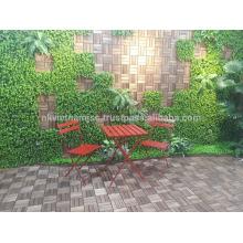 Umweltfreundlicher Bistrotisch und Stuhl / Außenmöbel aus Vietnam