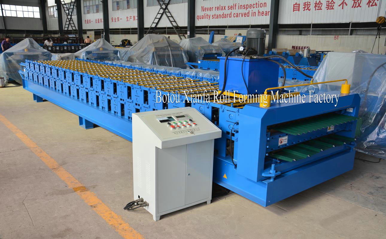 roof and wall panel roll forming machinery