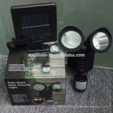 Lumière solaire de capteur de mouvement de sécurité extérieure