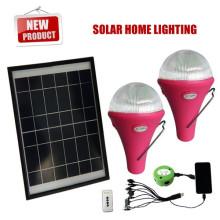 Portable solar LED iluminación flash, iluminación solar led, luz de destello solar