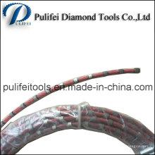 Веревочка Вырезывания провода диаманта для резать мрамор камня кварца Сляба