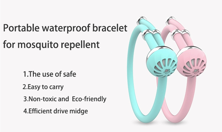 high-end silicone mosquito bands