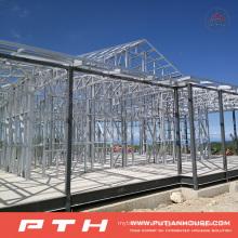 China Low Cost Prefabricated Light Steel Villa House