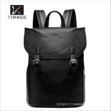 Nouveau sac à dos en cuir pour ordinateur portable