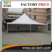 Tente de mariage 12 * 12m Clear Roof avec un tissu de chalumeau