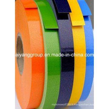 Lipping de PVC de haute qualité / bordure en PVC / bordure en PVC Lipping pour accessoires de meubles