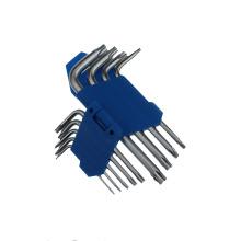 9 PCS chave de cabeça Torx duplo conjunto