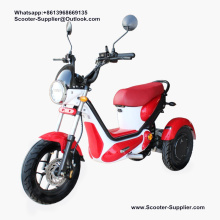 Moto électrique de sport de scooter de tricycle