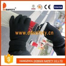 Los puntos hechos punto algodón de nylon calientes de la venta Dkp429 de los guantes