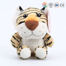 Personagem de desenho animado cabeça grande cabeça tigre amarelo mascote traje para bebê feito na china