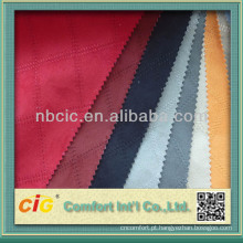 Moda Novo Design Bordado Micro Camurça Tecido Para Sofá