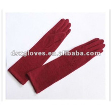 Red Long arm Wool Gloves
