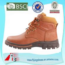Фабрика OEM Высокий кожаный ботинок людей, ботинок неподдельной кожи способа для людей, стильный ботинок ковбоя работника