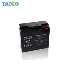 Long life lead acid 12v 18ah 20hr battery for alarm system