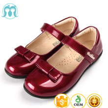 2017 new arrival baby soft fasion casual formal shoe children classic pu shoes for girls angel dance in stock