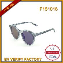 F151016 Пользовательские круглые солнцезащитные очки для мужчин