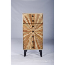 Industrial Vintage Modern Beautiful Design Wooden Drawer Chest
