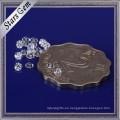 Muchos tamaños y colores disponibles Round Brilliant Cut CZ Zirconia piedras preciosas sueltas