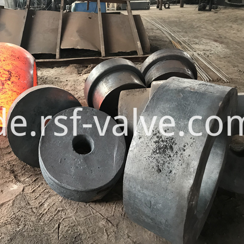 Ball Valve Part Forging Blank Body Closure