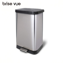 Brise Vue 20 Gallon sensor trash can stainless steel touchless garbage can bins for kitchen, intelligent trash bins metal