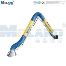 External Support Fume Extraction Arm