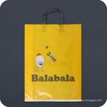 Специальная печатная красочная пластиковая сумка для покупок