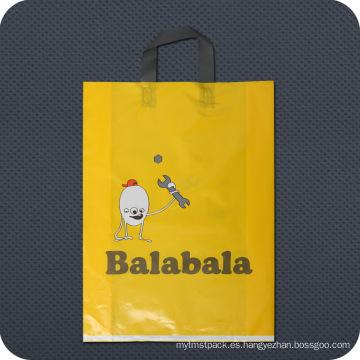 Bolso de compras plástico impreso de encargo
