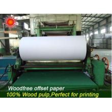 Papel offset de impressão de papel de papel Stocklot