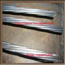 Galvanized Steel Wire Core For ACSR Earth Wire