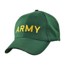 Green Army Baseball Cap with Low Price
