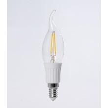 LED lâmpada incandescente - C35 cauda 140mm