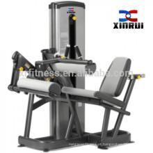 exercício de extensão de pernas e pernas sentado onda xinrui máquina de ginásio de fitness (9a017)