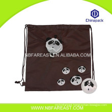 New design high quality shopping useful polyester foldable bag