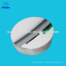 Miroir plat optique avec de l'aluminium