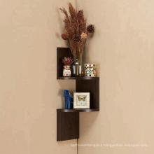 small 3 tier wooden  zigzag  corner shelves  Small wooden 3 tier corner shelves design