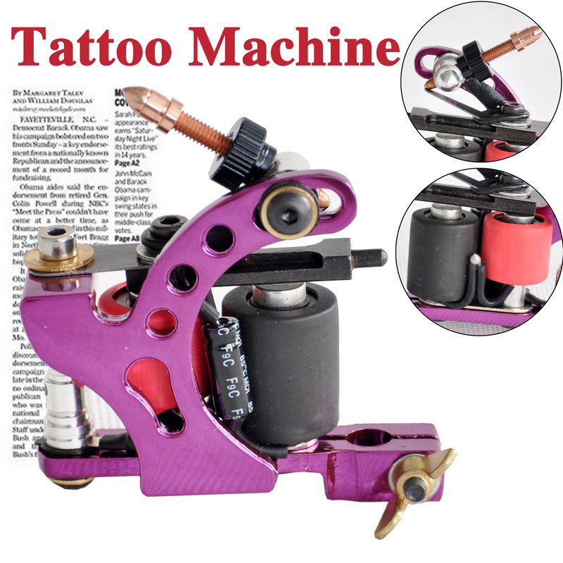 new purple tattoo machine