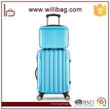 Colorful Fashion Hard Strong Travel Trolley 4 Wheel Luggage Set