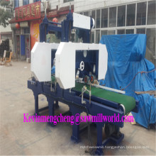 2 Heads Band Saw Horizontal Wood Saw Cutting Machine
