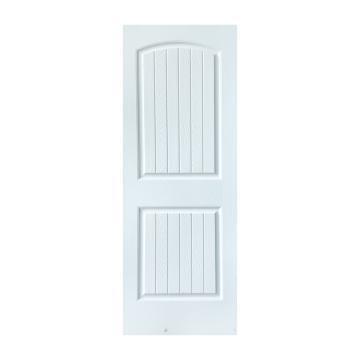 White prime door  wood door panel mdf sheet wood color paint cheaper door GO-K02