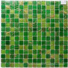 Green Goldstar Chinese Mosaic