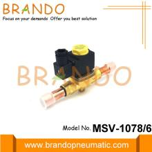 Magnetventil der MSV-Serie 1078/6 in der Kältetechnik