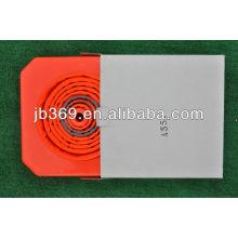 Fabricación de cono de seguridad de tráfico plegable / plegable / retracable con tamaño 500mm / 600mm / 700mm