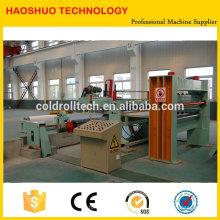 Hecho en China Línea de alta calidad de la cortadora de acero de HR CR SS GI