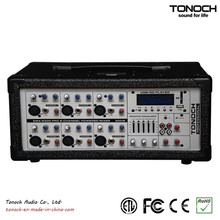 6 Channels Power Box Theater Mixer